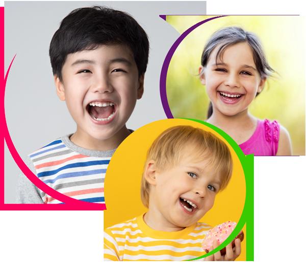 children happy after dentist